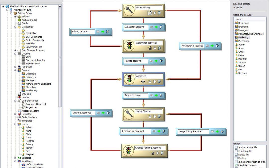 Instalación de cliente SOLIDWORKS PDM 2021