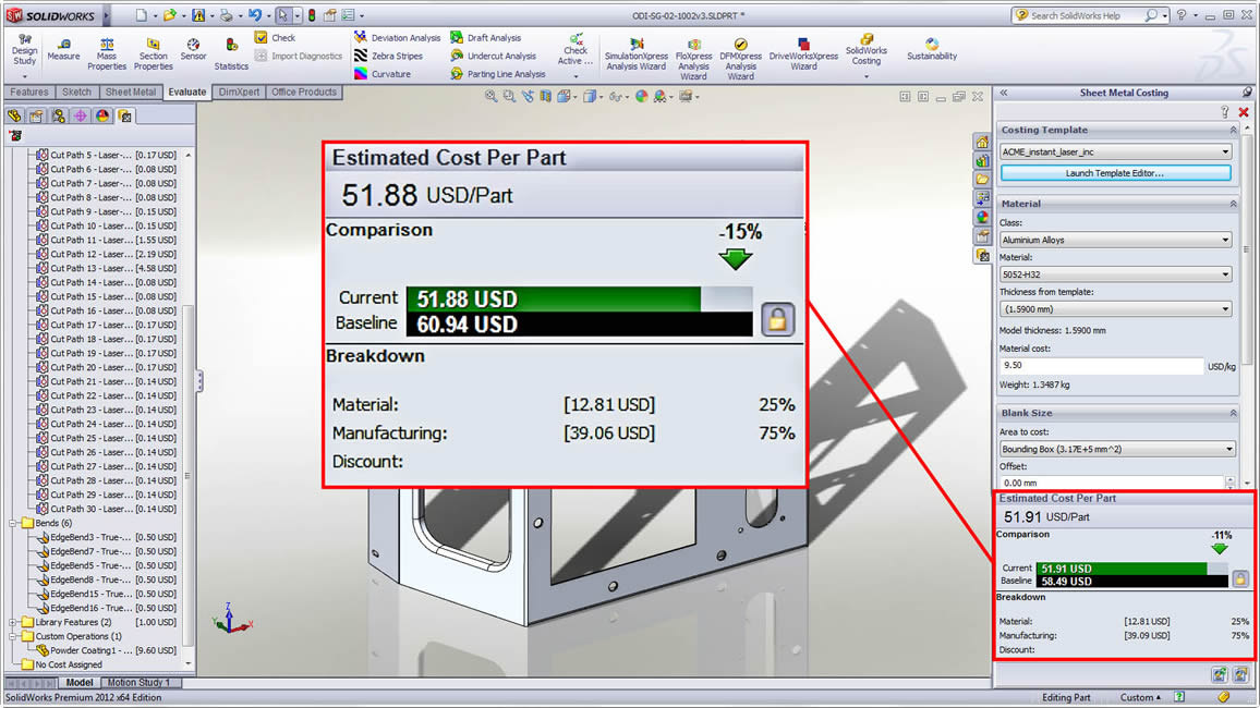 how to change units in solidworks 2018