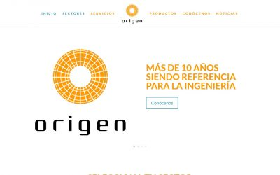 Nueva web de ORIGEN