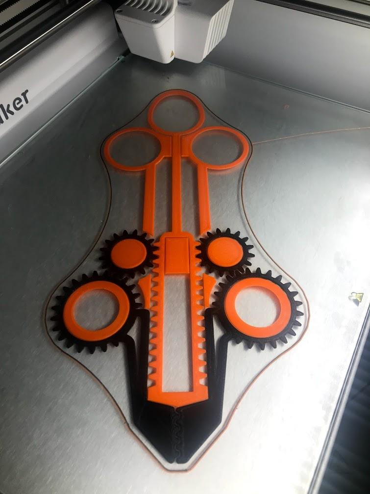 tenaza impresión 3D