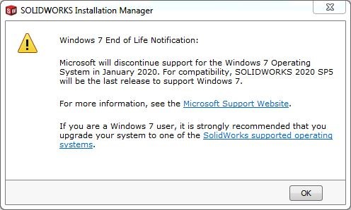 Requisitos SOLIDWORKS