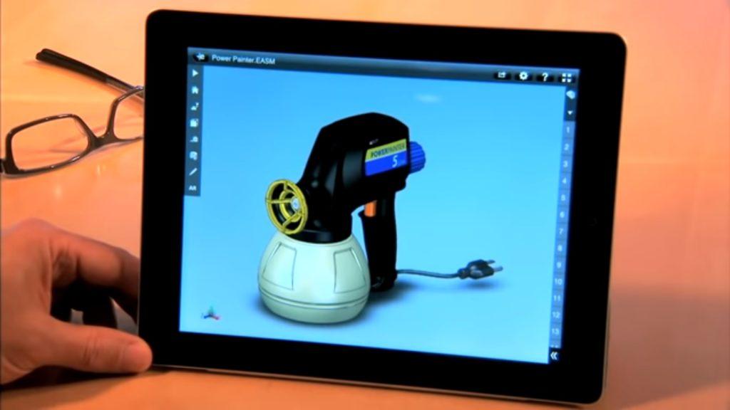 SOLIDWORKS para tablet