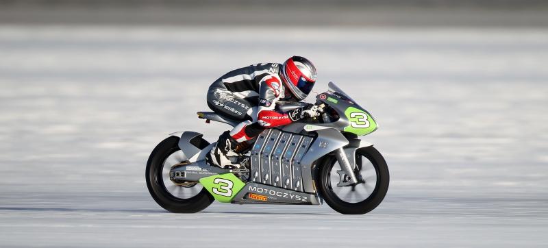 Motoczysz – La moto eléctrica más rápida del mundo