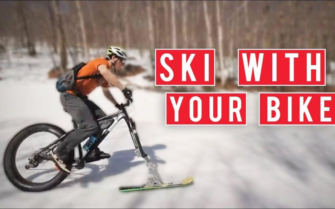 Auswall – La Mountain Bike para esquiar