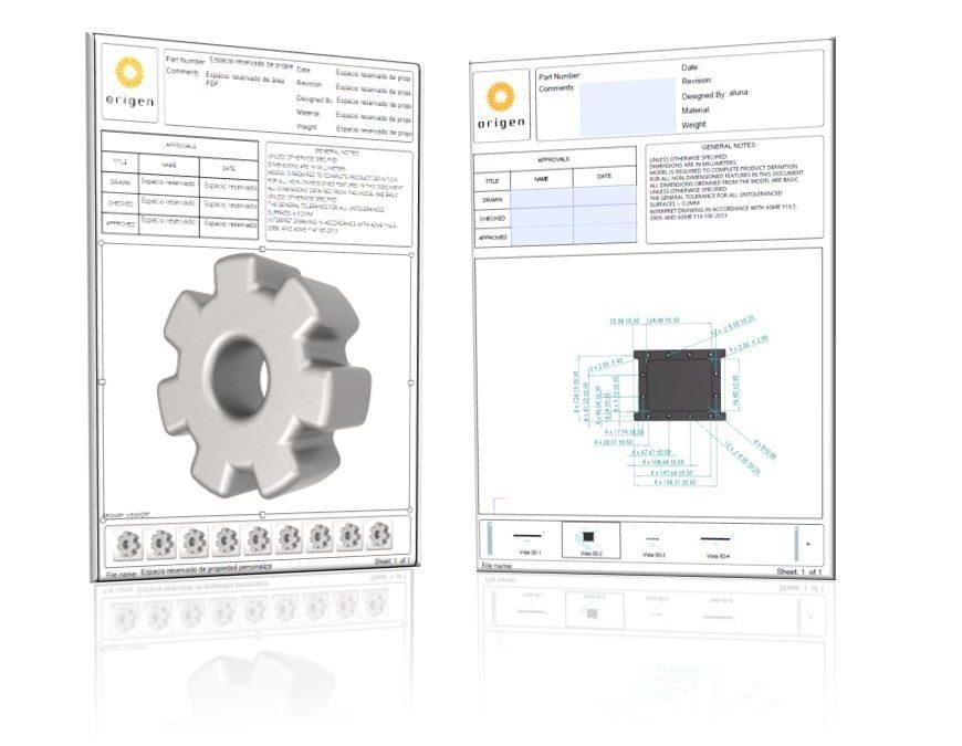 ¿Adiós al papel? Tus datos de fabricación en un PDF 3D