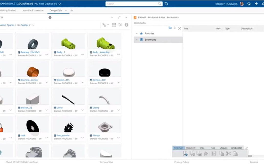 10 Organización de diseños y documentación complementaria – 3DEXPERIENCE