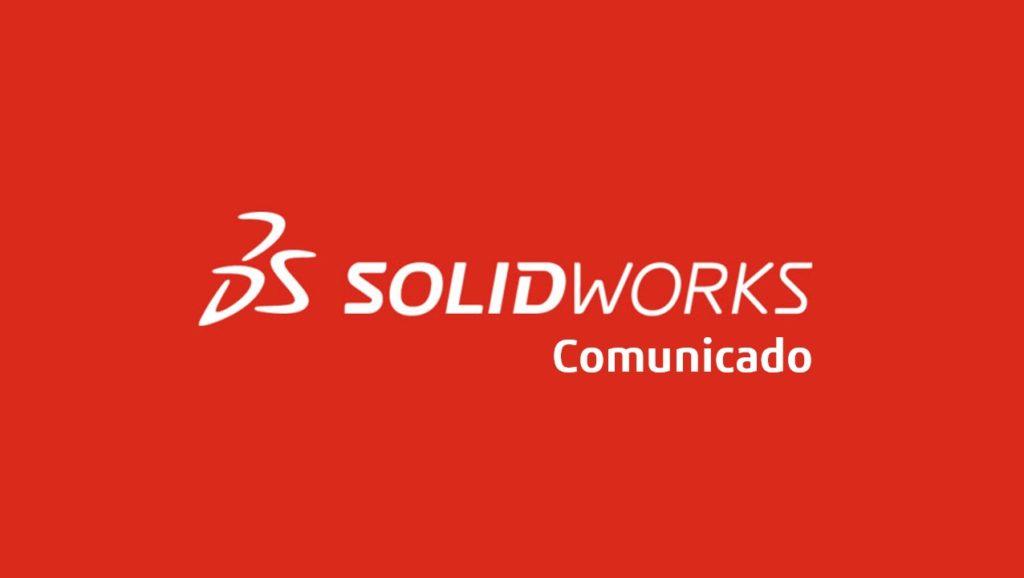 Comunicado SOLIDWORKS
