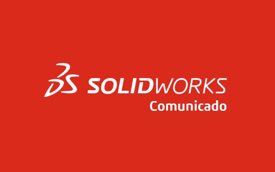 Comunicado SOLIDWORKS 2021 SP4